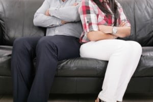 Beziehungsprobleme: Streit in einer Beziehung