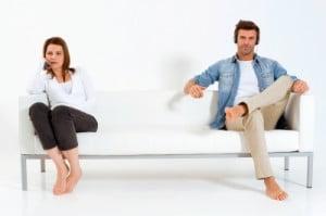 Beziehungsprobleme: Unglücklich in einer Beziehung